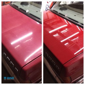 car paint correction