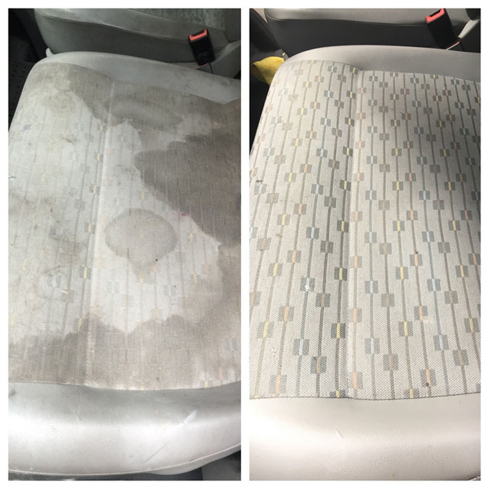 car seat stain removal