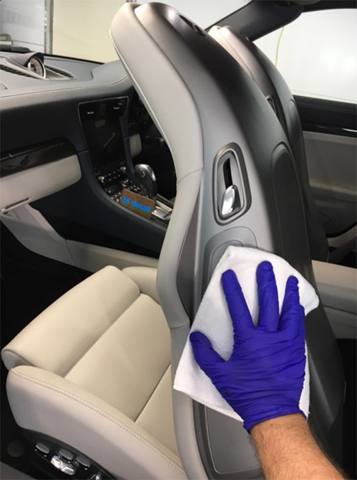 seat cleaning rolls royce
